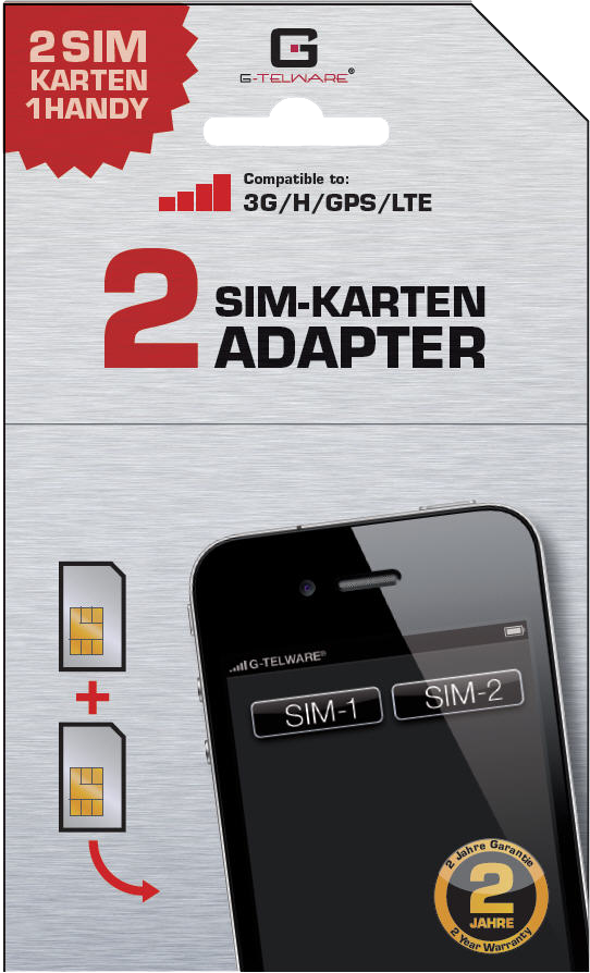 GDS30th-A Dual SIM Card