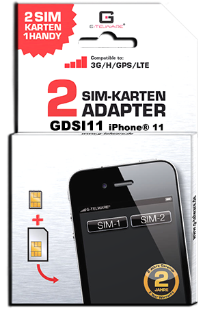 Dual SIM Adapter iPhone 11