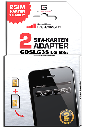 Dual SIM Adapter Card LG G3S
